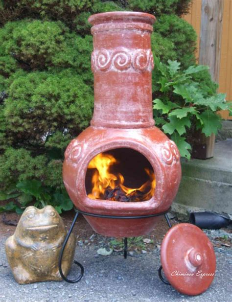 mexican fireplace chiminea