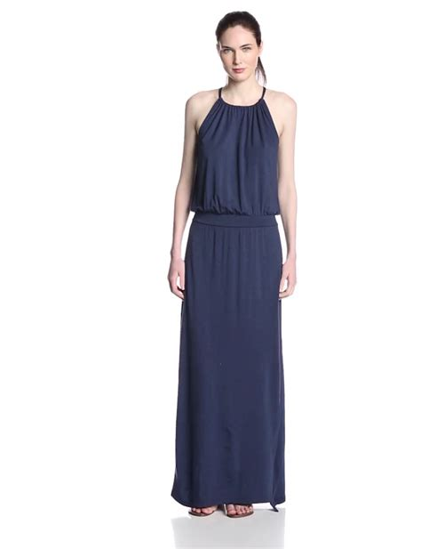 hair for maxi halyer dress aesthetic official splendid women s grecian halter maxi