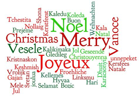 words that describe christmas merry merry