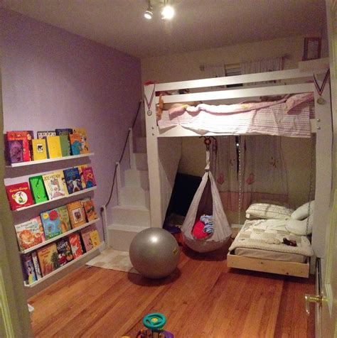 kids loft bed kids space loft bed bunk bed build with hanging toddler