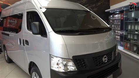 nissan urvan 2017 interior nissan presenta la nueva nv350 urvan 2017