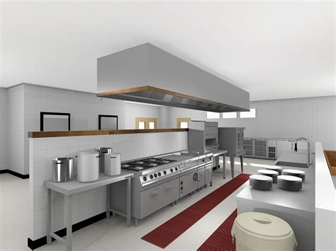 3d Design Kitchen Amazing 30 Restaurant Kitchen Layout 3d Design Ideas Of Modren Restaurant Kitchen Setup Designs