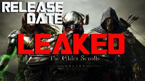 elder scrolls console release date elder scrolls release date leaked xbox one ps4