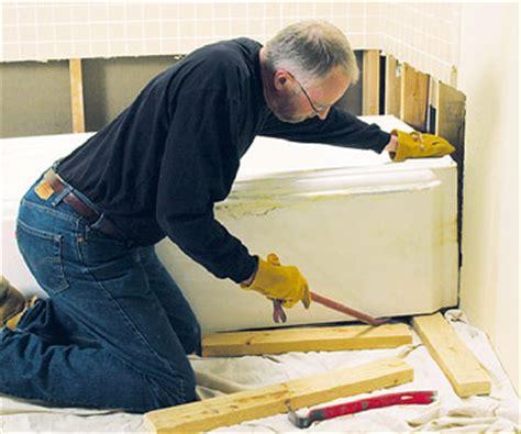 how to remove a old bathtub removing a bathtub how to remove a bath tub diy