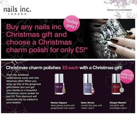Special Offer Nails Inc 4 Set by Special Offers Virtues Of