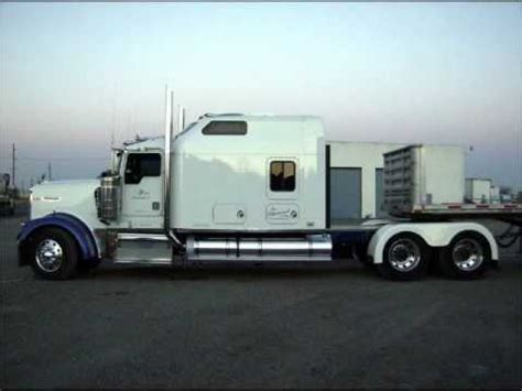 Customs Sleepers by Kenworth W900l Custom Aerocab Sleeper