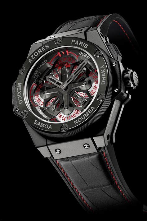 Hublot King Power Unico Black Swiss Eta 11 watches hublot