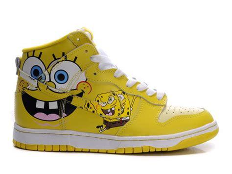 spongebob shoes nike dunk high spongebob squarepants custom shoes for sale
