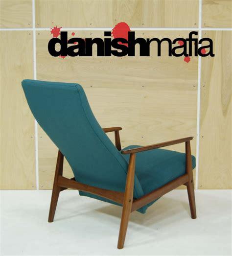 mid century modern reclining mid century danish modern recliner lounge chair eames