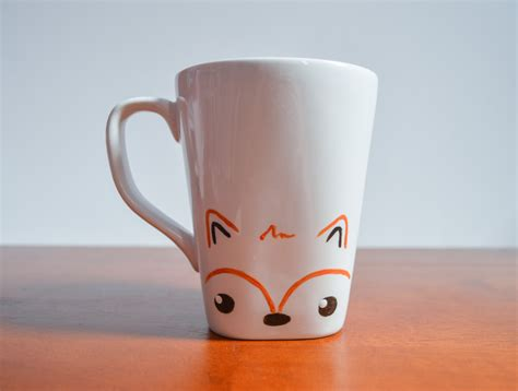 fox mug fox mug fall mug autumn mug animal lover mug woodland creature