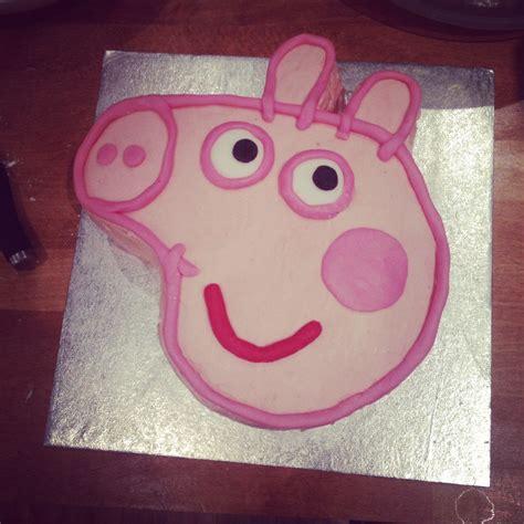 peppa pig template for cake presenting peppa how to make a simple peppa pig cake