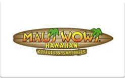 Sell Gift Cards Fast - sell maui wowi gift cards get more at giftcardio com