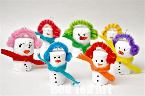 wine cork xmas crafts fir children cork crafts snowman ornaments ted s