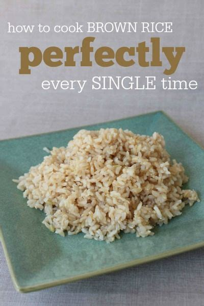 all about rice tips terms and how to cook perfect brown rice alternative how to cook and