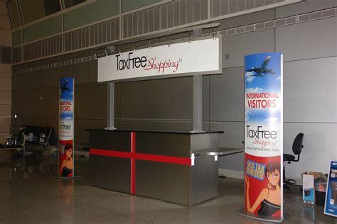 Kiosk Desk by Aluminum Welcome Desk Envisionary Images