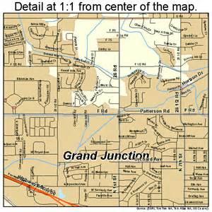 grand junction colorado map 0831660