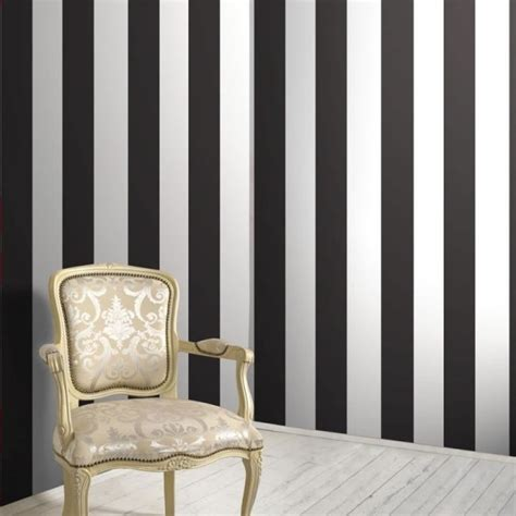 black and white striped wall black white stripe wallsorts