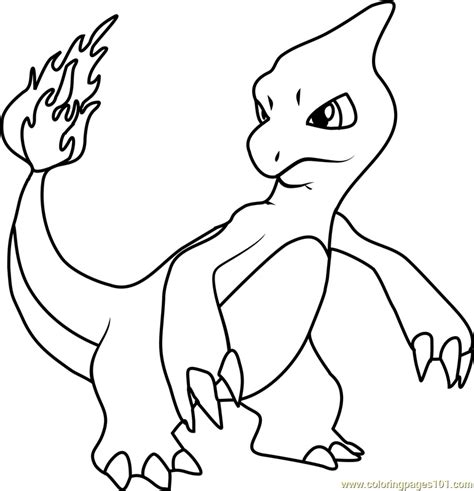 pokemon coloring pages that you can print charmeleon pokemon coloring page printable pokemon