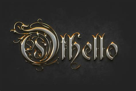 tutorial design font photoshop quick tip create a crisp metallic text effect in photoshop