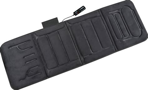 vibrating bed pad portable heated massage mat vibrating bed pad back body