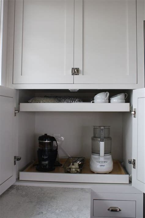 Pull Out Countertop by 1000 Ideas About Appliance Cabinet On Custom