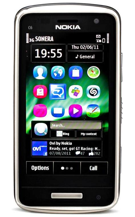 Smile List Chrome Nokia 6 New Silver nokia c6 01 mobile phone price in india specifications
