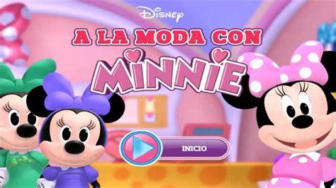 la casa de minnie en espa ol la casa de mickey mouse 2015 a la moda con minnie juegos