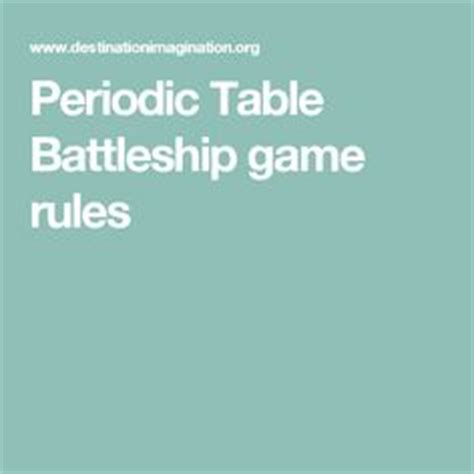 printable periodic table game 1000 ideas about battleship game on pinterest