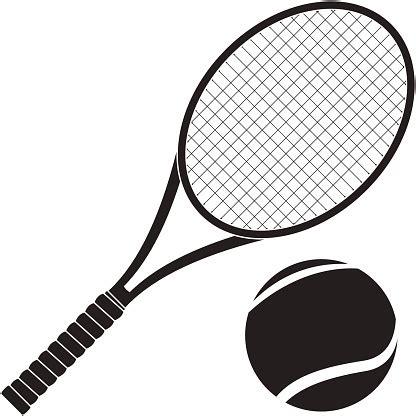 Promo Raket Tenis Silhouetee tennis racket clip vector images illustrations istock
