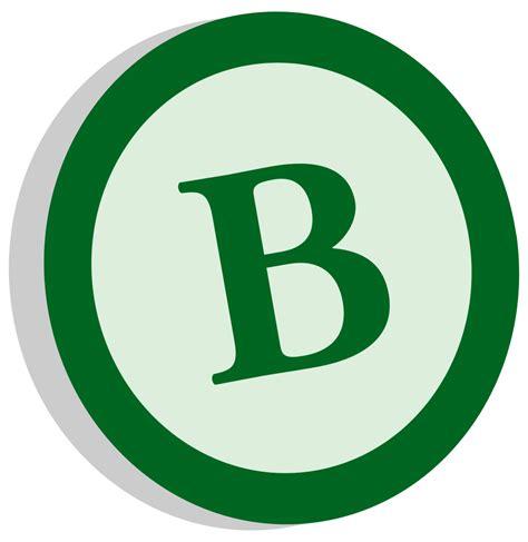 file symbol b class alternate svg wikimedia commons