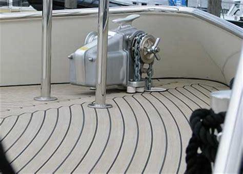 boat floor installation flexiteek uk the next generation