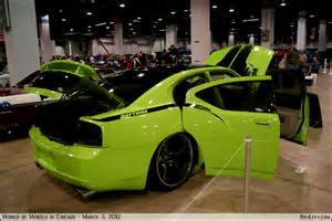 lime green dodge charger benlevy