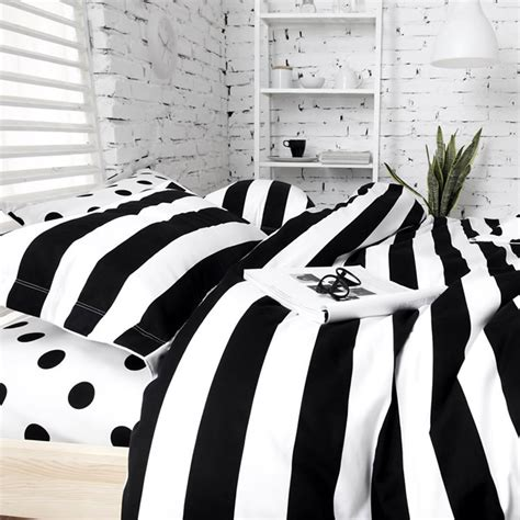 striped bedding black and white stripe from sininlinen black and white striped comforter ticking stripe bedding