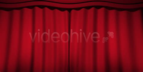 reveal curtain motion graphics theatre curtain reveal videohive