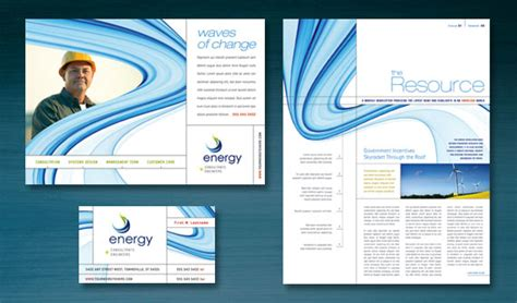 advertising design layout ideas market a renewable energy consulting company with