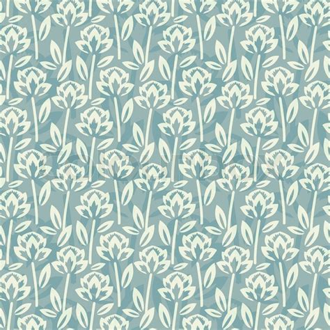 svg pattern overlay seamless floral pattern with overlay stock vector
