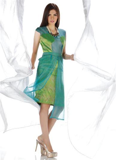 Gaun Mango terawang pandang