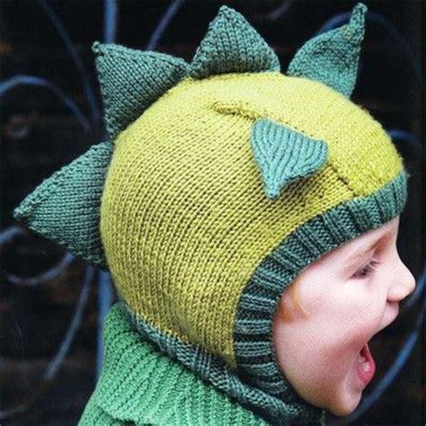 dinosaur knit hat dinosaur hat from knitted animal hats knitspiration