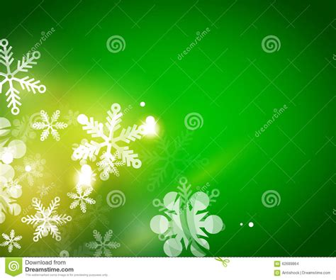 Times Promotes Green Holidays by Green Abstract Background Winter Stock Vector