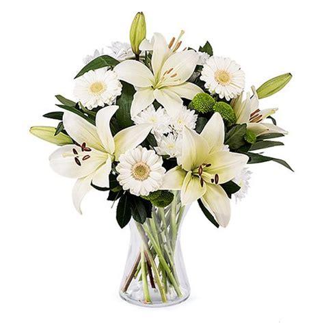 fiori gigli gigli gerbere crisantemi vaso gratis floraqueen