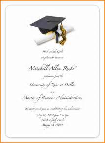graduation invitations templates 8 free printable graduation invitations budget template