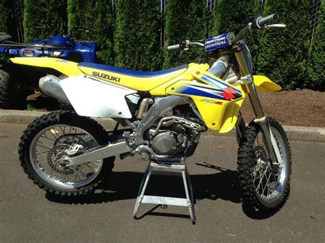 Suzuki Dirt Bikes 250 Buy 2006 Suzuki Rm Z 250 Dirt Bike On 2040motos