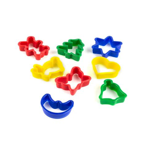 Diskon Dough 8 Pcs dough cutter shapes 8pc