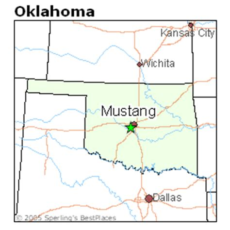 best places to live in mustang oklahoma