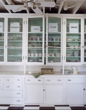 White Kitchen Cabinets With Glass Glass Front Kitchen Cabinets Design Ideas