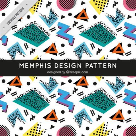 memphis pattern ai retro memphis pattern vector premium download
