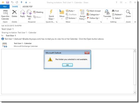 Calendar Shared Not Showing Up Missing Shared Mailboxes And Calendars In Office 365 The