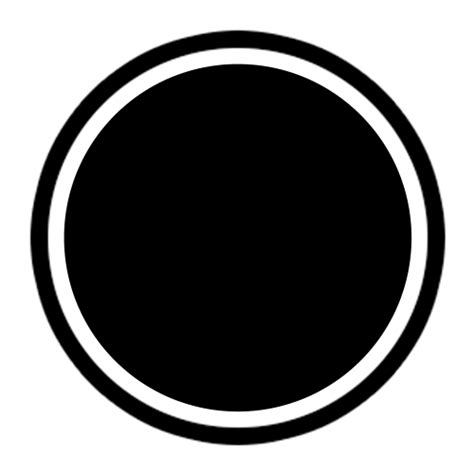black white circle logo template logos rates
