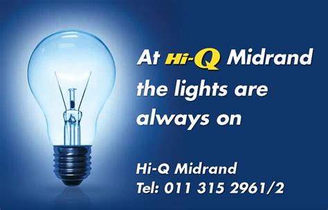 Load Shedding Midrand by At Hi Q Midrand The Lights Are Always On Hi Q