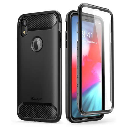 for apple iphone xr clayco xenon series rugged with built in screen